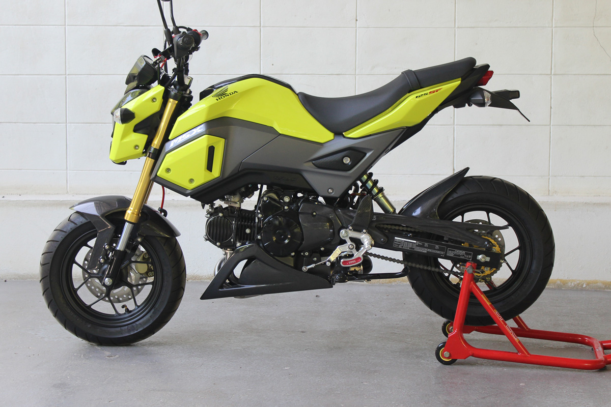 Under Cowl, Belly Exhaust Type, (Carbon), MSX125, Monkey 125 (2018-)