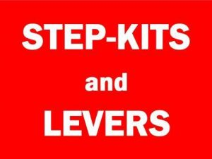 Step-Kits, Levers & CNC
