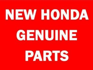 New Honda Genuine Parts