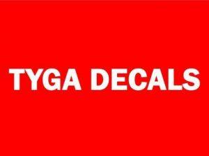 TYGA Decals