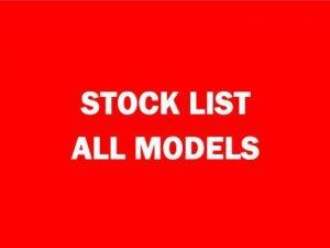 Stock List, All Models